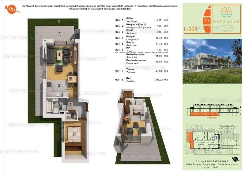 Liget Resort - 2 szoba kertkapcsolattal