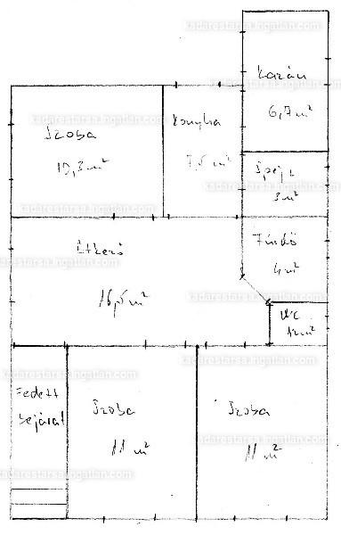 Ingatlan, eladó ház, Vámospércs, Temető utca, 71 m2