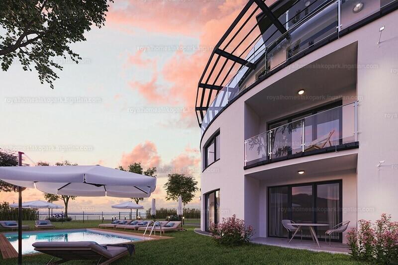Royal Homes Lakópark - 2 + 1 szoba erkéllyel