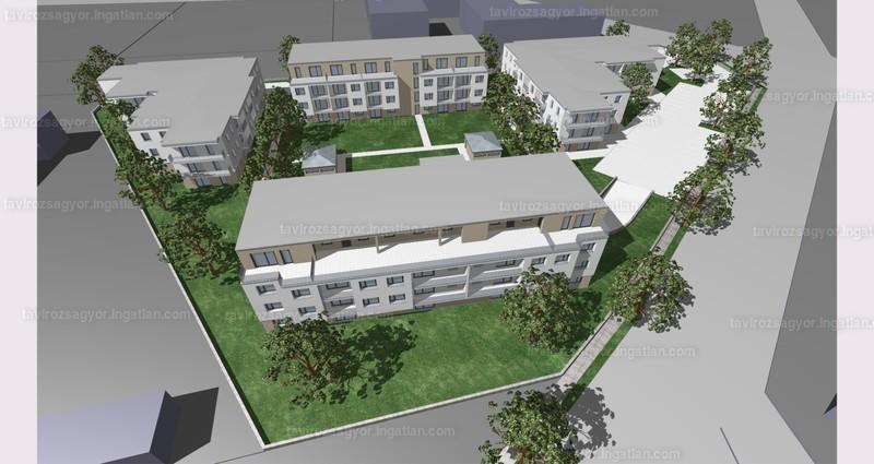 Tavirózsa Lakópark V. ütem - 2 szoba erkéllyel
