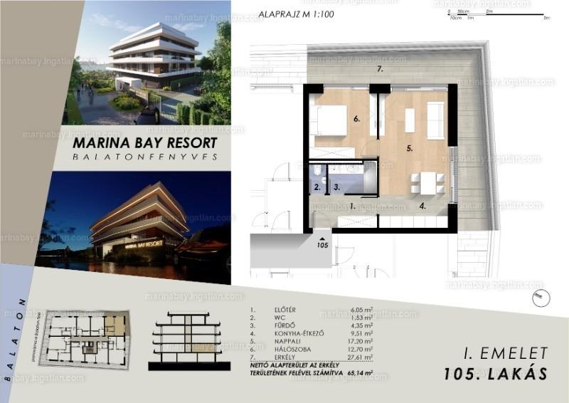 Marina Bay Resort - 2 szoba erkéllyel
