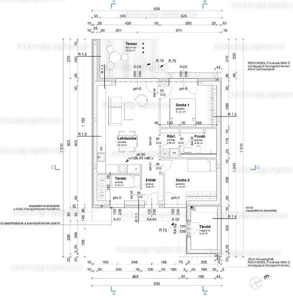 Karikavölgy Lakások - 3 szoba kertkapcsolattal