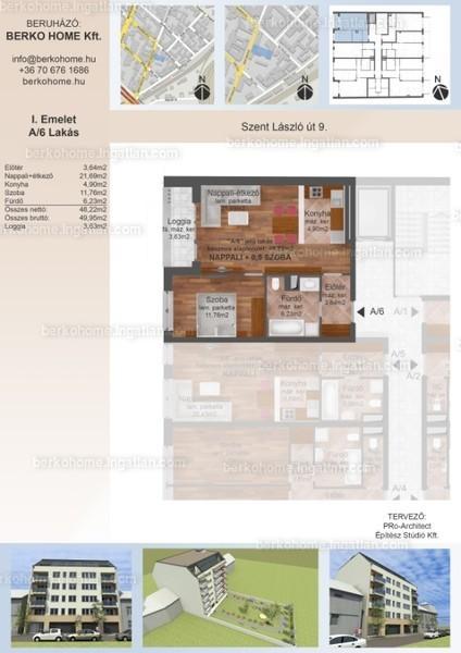 Berko Home - 2 szoba erkéllyel