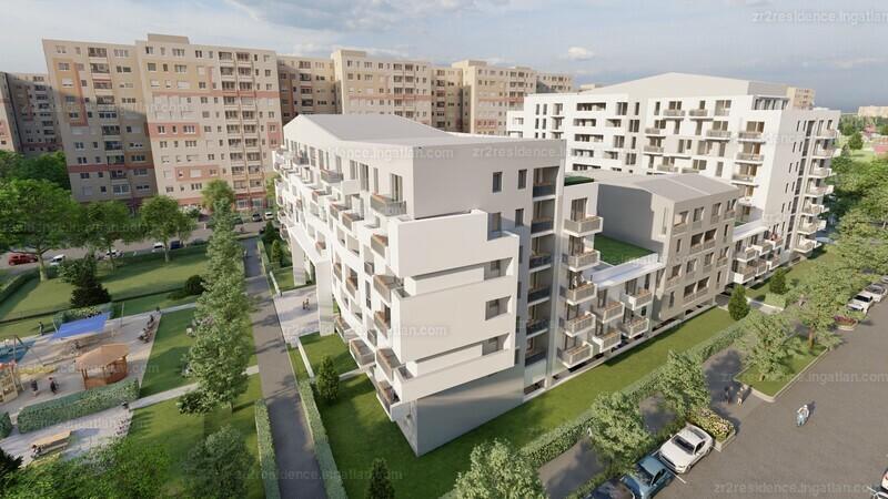 Zr2 Residence - 3 szoba erkéllyel