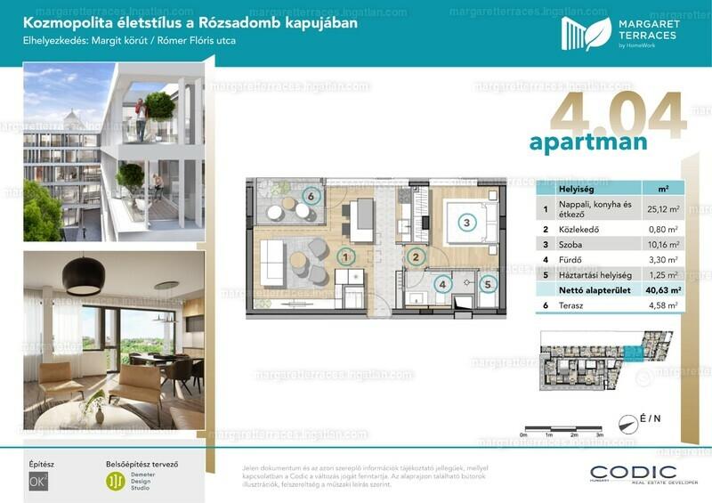 Margaret Terraces by HomeWork - 2 szoba erkéllyel