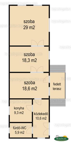 Ingatlan, eladó ház, Bánfa, Petőfi utca 60.
