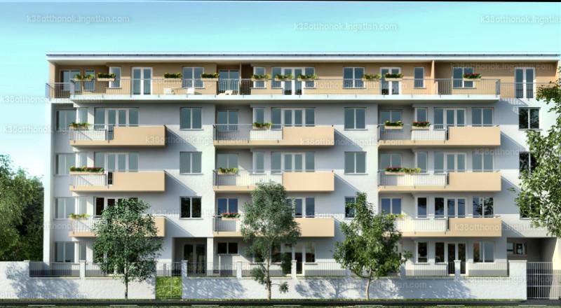 K38 Otthonok - 3 + 1 szoba erkéllyel