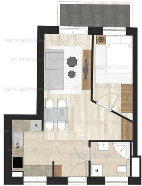 Bethlen Corner - 2 szoba erkéllyel