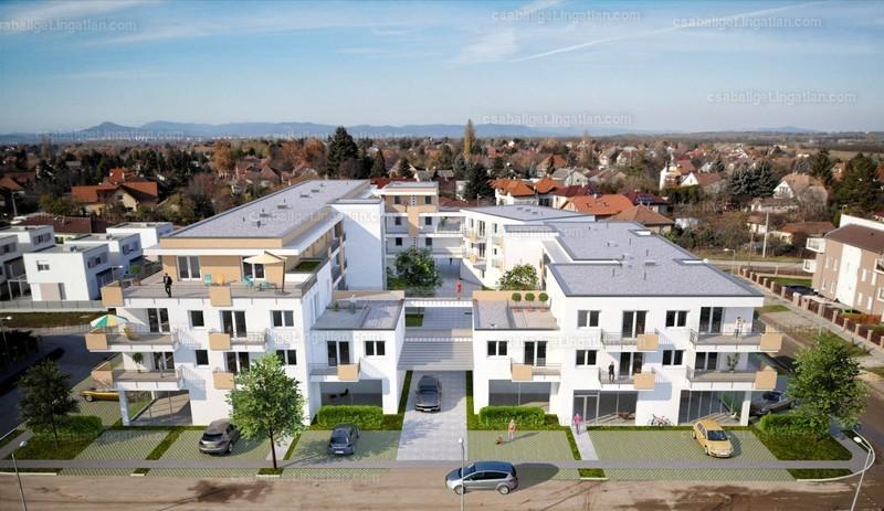 Csabaliget Center és Apartmanház - 3 szoba erkéllyel