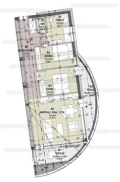 HYPERMODERN Madárhegy - 3 szoba erkéllyel