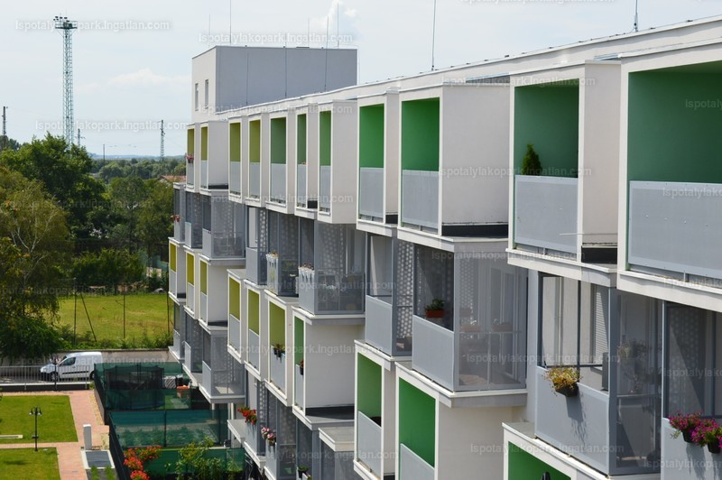 Ispotály Lakópark - 3 szoba erkéllyel