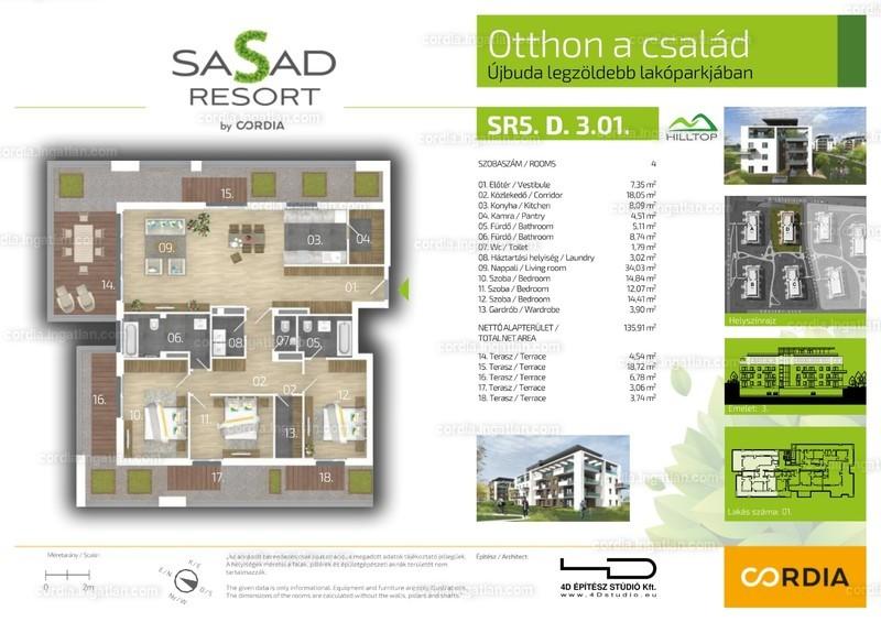 Sasad Resort Hilltop by Cordia - 4 szoba erkéllyel