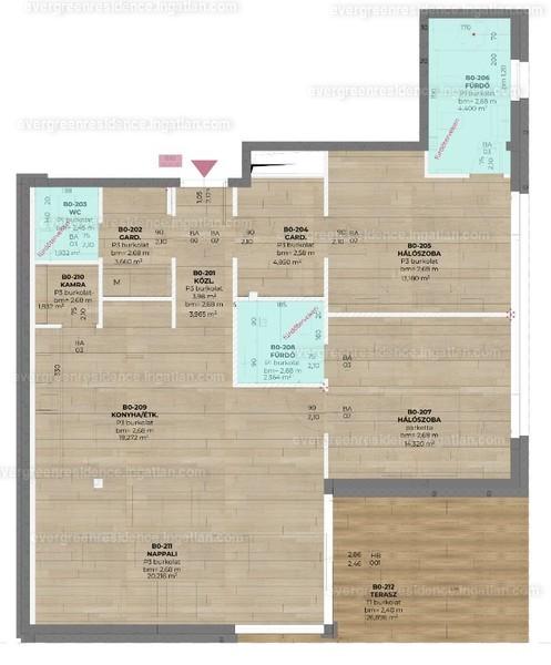 Evergreen Residence - 3 szoba kertkapcsolattal