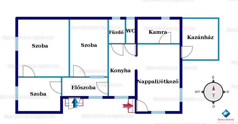 Ingatlan, eladó ház, Görcsöny, Petőfi utca, 100 m2
