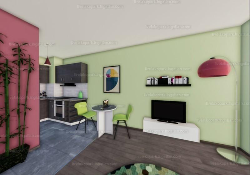 LIVE lakópark - 1 szoba kertkapcsolattal