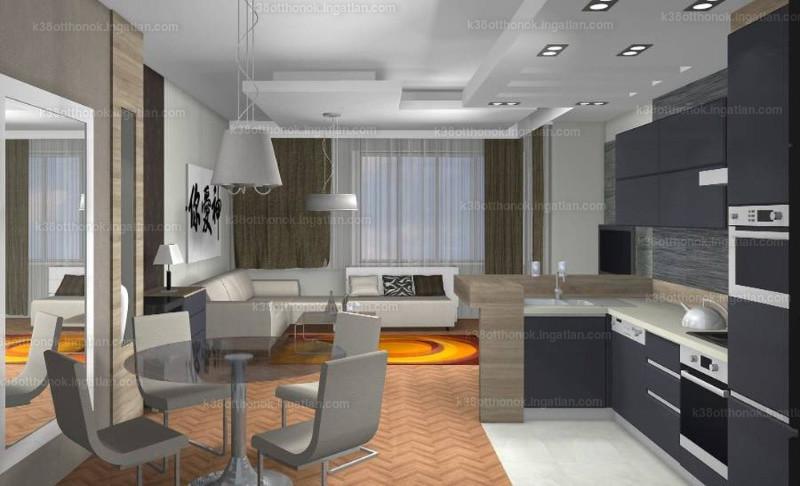 K38 Otthonok - 2 + 1 szoba erkéllyel