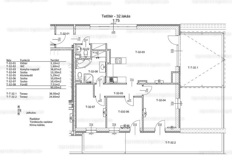 Top Residence Lakópark Veszprém - 1 + 3 szoba erkéllyel