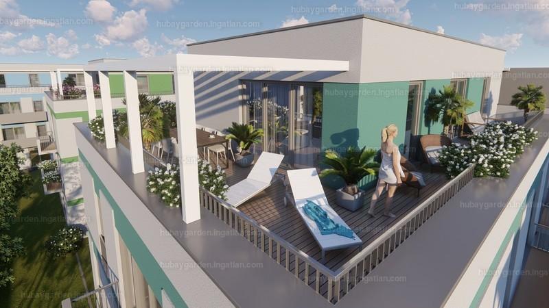 Hubay Garden - 3 + 2 szoba erkéllyel