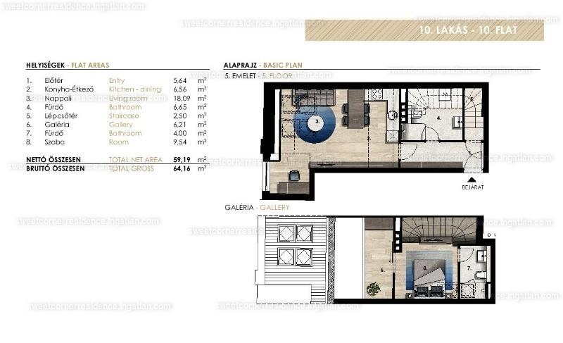 Sweet Corner Residence - 2 szoba