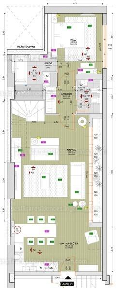 Basilica Residences - 4 szoba erkéllyel
