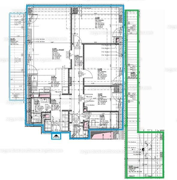 Nagyerdei okosotthonok - 4 szoba erkéllyel