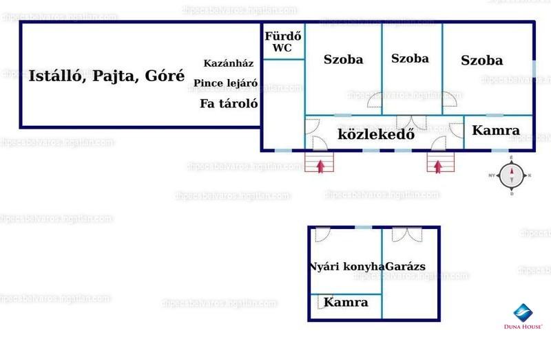 Ingatlan, eladó ház, Martonfa, Baranya , 100 m2