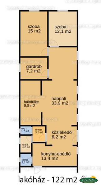 Ingatlan, eladó ház, Helesfa, Fő utca 63., 234 m2