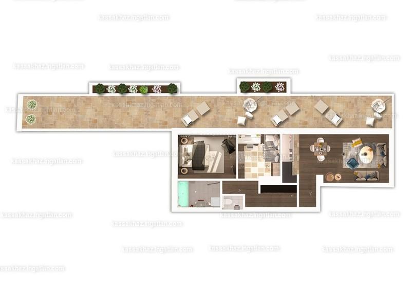 Kassák Ház - 3 szoba erkéllyel