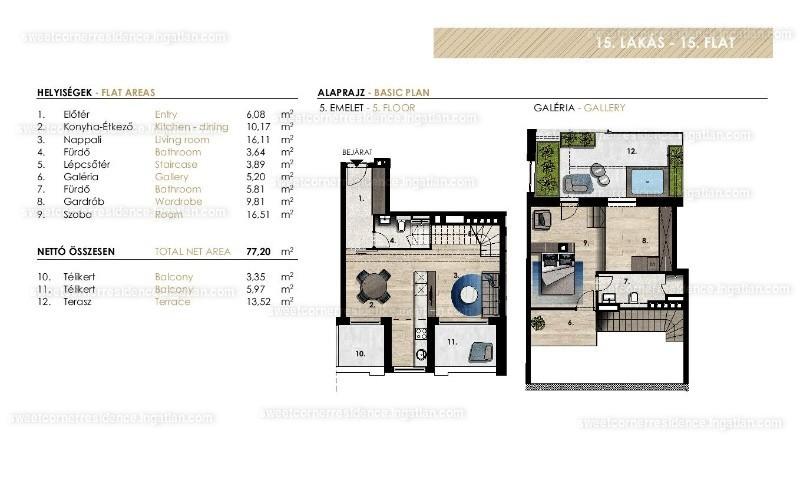 Sweet Corner Residence - 2 szoba erkéllyel