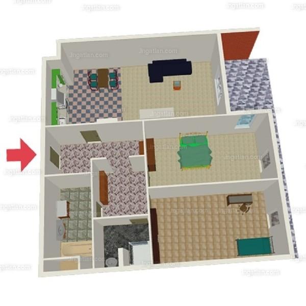 Semiramis Garden - 3 szoba erkéllyel
