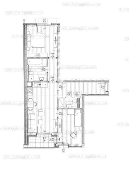 Szív utca - 2 + 1 szoba erkéllyel