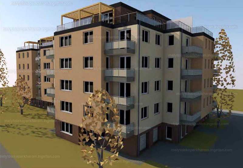 Mélytó Lakópark 3 - 4 szoba erkéllyel