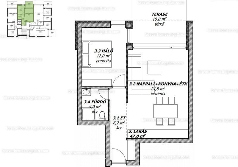 ForeverHomes - 2 szoba erkéllyel