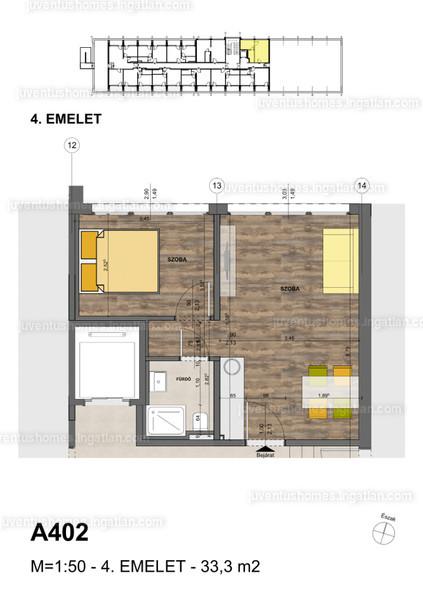 Juventus Homes - 2 szoba