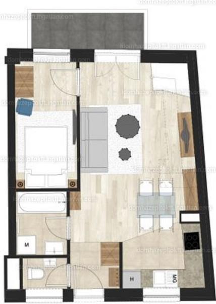 Bethlen Corner - 3 szoba erkéllyel
