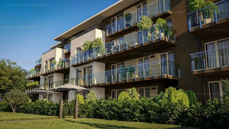 Szarvasugrás Lakópark - 4 szoba erkéllyel