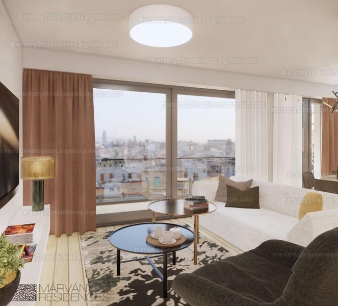 Márvány 20 Residences - 4 szoba erkéllyel