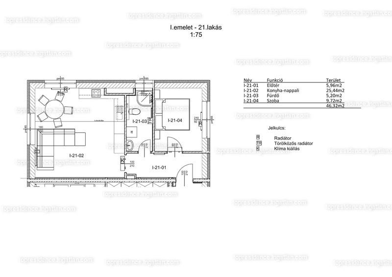 Top Residence Lakópark Veszprém - 2 szoba