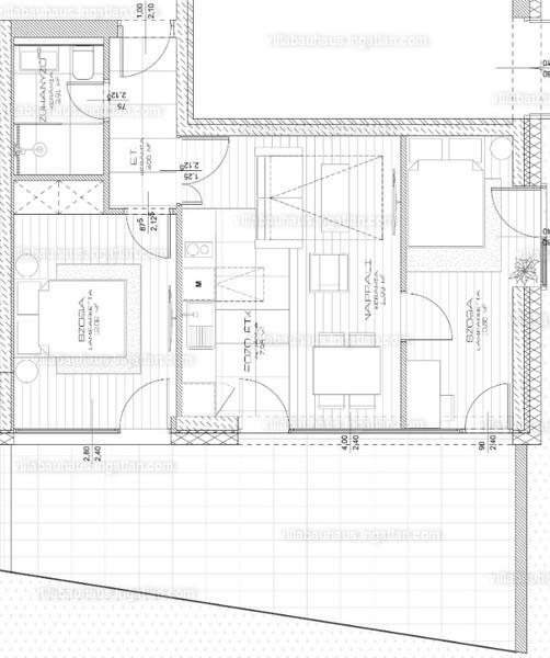 Villa Bauhaus - 2 szoba kertkapcsolattal