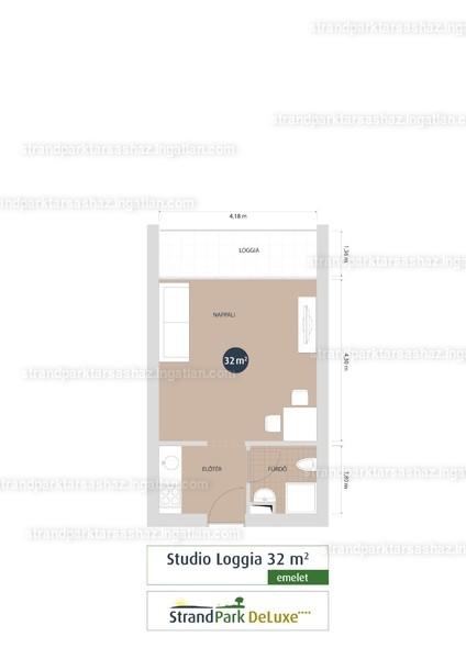 StrandPark DeLuxe ( III. Ütem ) - 1 szoba