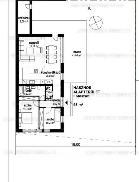 Paperdő Lakópark - 3 szoba