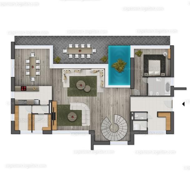 CapeTown Villapart - 5 szoba