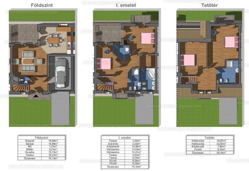 Miravel Residence - 5 szoba