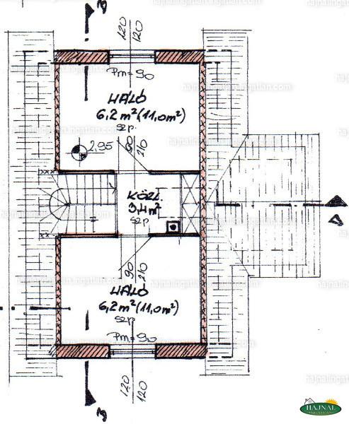 Ingatlan, eladó ház, Ibafa, Zrínyi Miklós utca 16., 64 m2