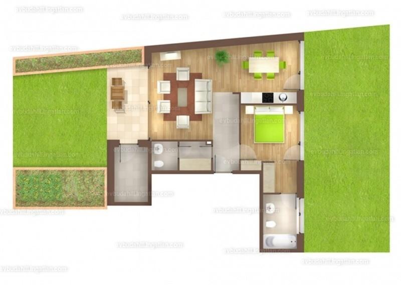 E&V Budahill - 2 szoba kertkapcsolattal