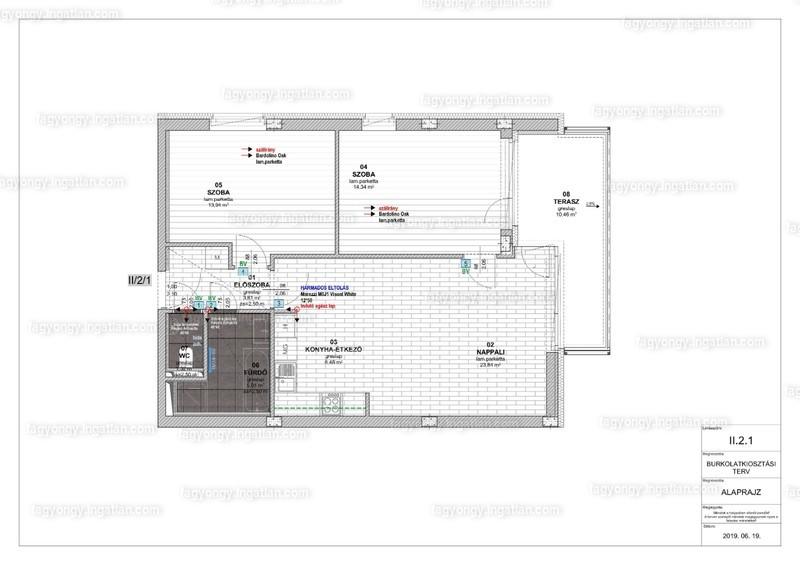 Fagyöngy Lakópark - 3 szoba erkéllyel