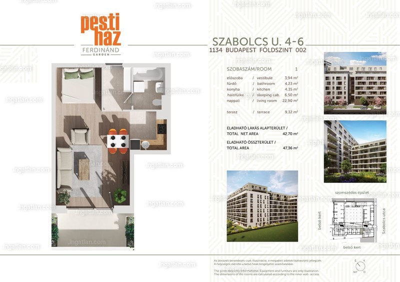 Pesti Ház - Ferdinánd Garden - 1 szoba erkéllyel