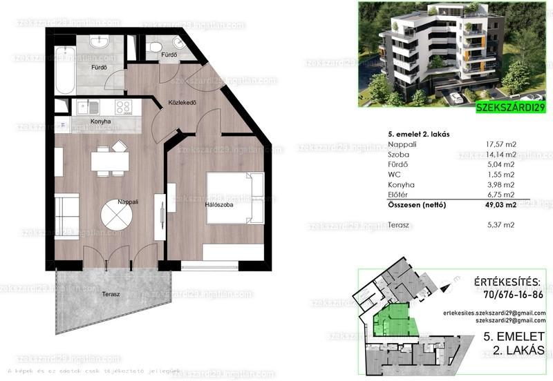 Szekszárdi29 - 2 szoba erkéllyel