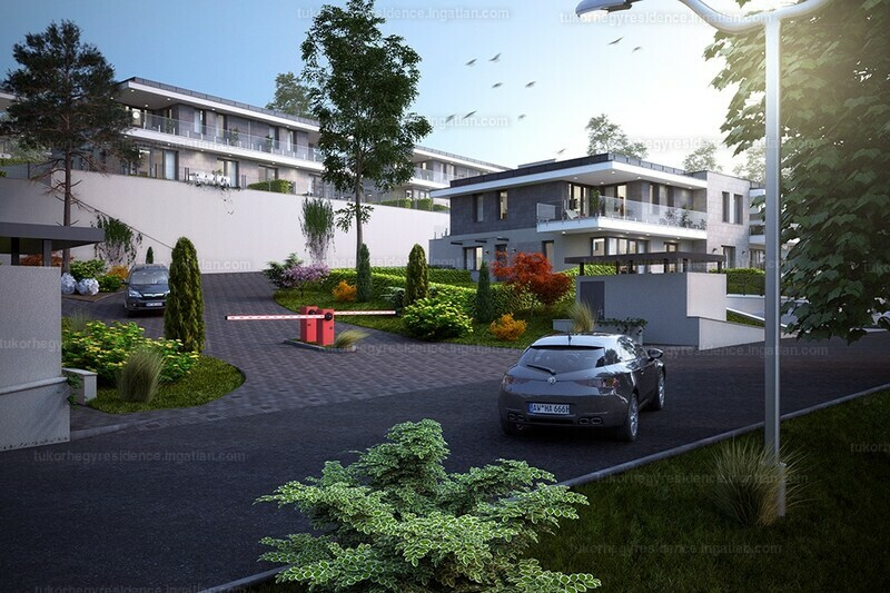 Tükörhegy Residence VI.ütem - 3 szoba erkéllyel