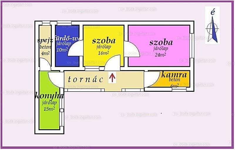Ingatlan, eladó ház, Dunaegyháza, Bács-Kiskun , 75 m2